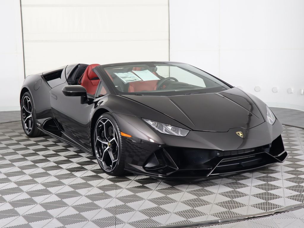 2020 New Lamborghini Huracan EVO Spyder at Lamborghini North ...