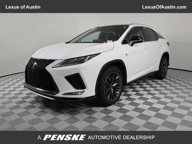 2020 New Lexus Rx 350 4dr Awd F Sport High For Sale In Austin Tx