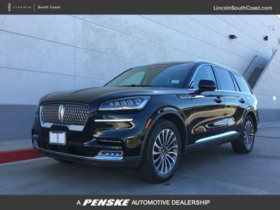 2020 Lincoln Aviator Reserve RWD SUV - Click to see full-size photo viewer