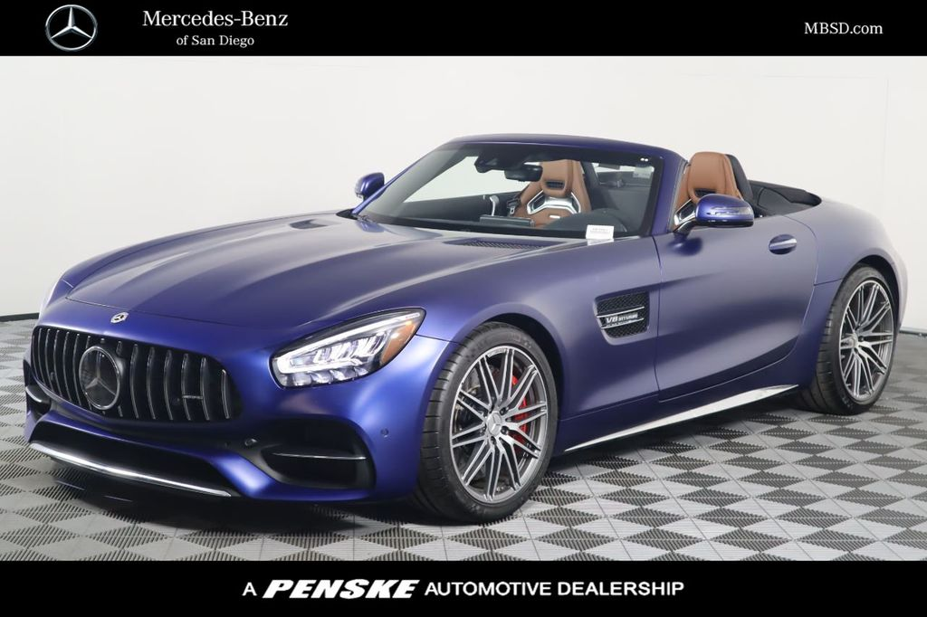New 2020 Mercedes Benz Amg Gt Amg Gt C Roadster For Sale In San Diego California 60395t Penskecars Com