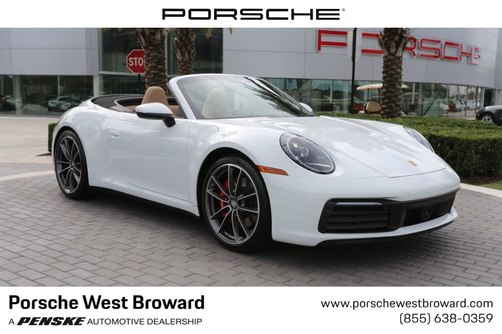 2020 New Porsche 911 Carrera 4s Cabriolet At Porsche West Broward Serving South Florida Hollywood Fort Lauderdale Fl Iid 19753007