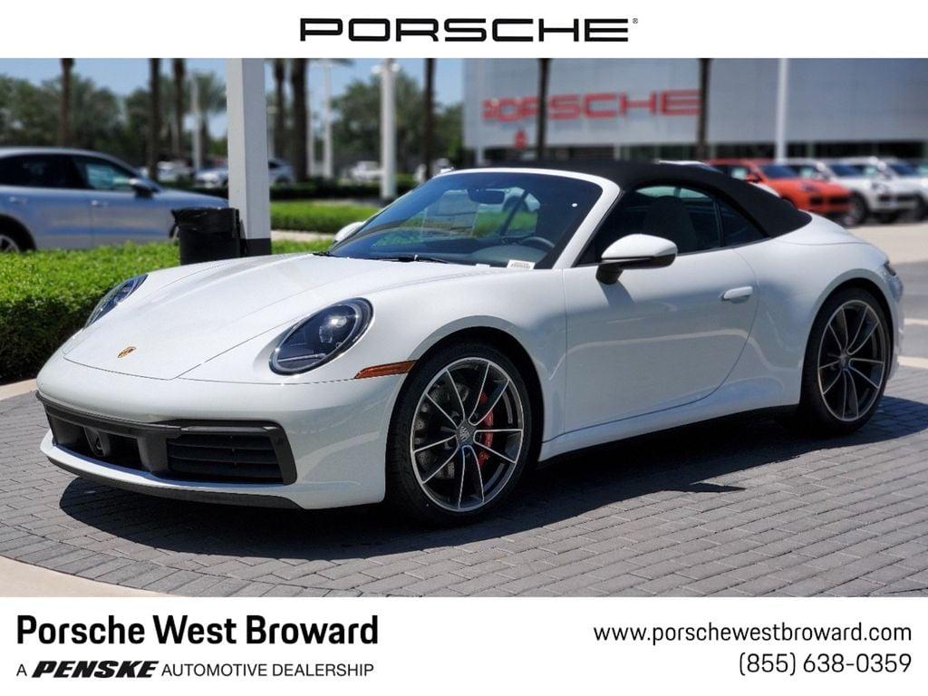 2020 New Porsche 911 Carrera 4s Cabriolet At Porsche West Broward Serving South Florida Hollywood Fort Lauderdale Fl Iid 19769221