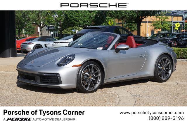 2020 New Porsche 911 Carrera Cabriolet At Porsche Of Tysons Corner Serving Washington D C Fairfax Arlington Va Iid 20175941