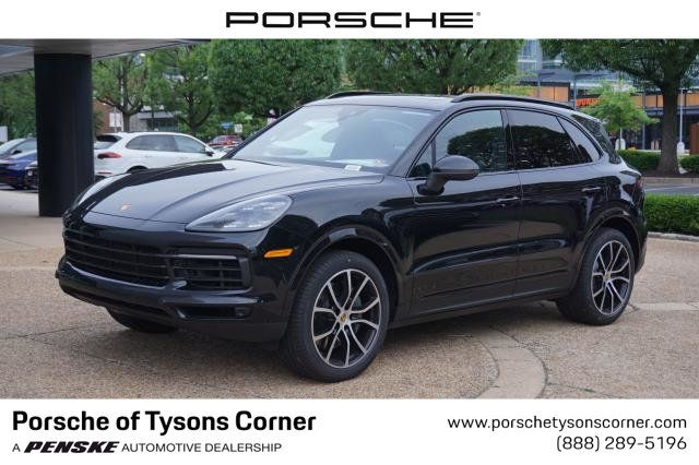 2020 New Porsche Cayenne S Awd At Porsche Of Tysons Corner Serving Washington D C Fairfax Arlington Va Iid 20061468