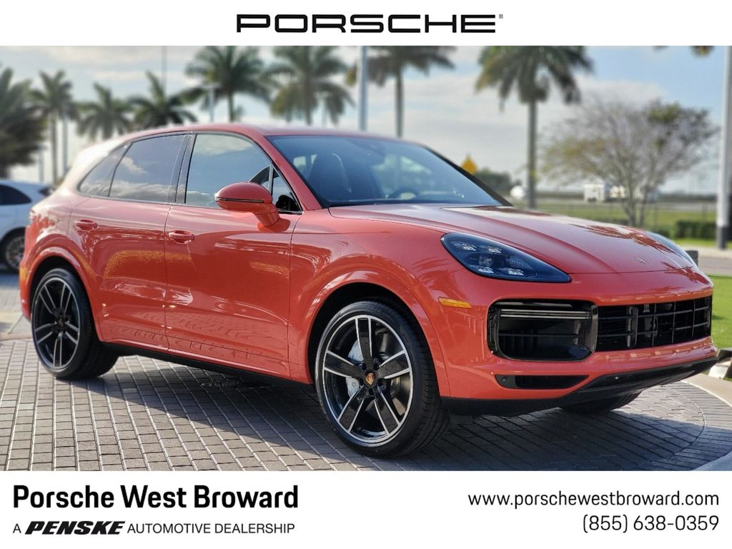 2020 New Porsche Cayenne Turbo Awd At Porsche West Broward Serving South Florida Hollywood Fort Lauderdale Fl Iid 19848316