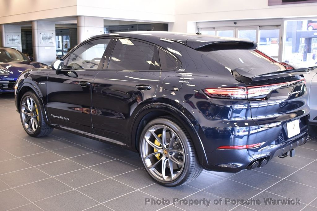 2020 New Porsche Cayenne Turbo S E Hybrid Coupe Awd At Porsche Warwick Serving Providence Boston Ri Iid 20158622