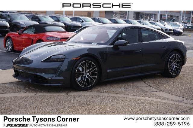 2020 New Porsche Taycan Turbo Sedan At Porsche Of Tysons Corner Serving Washington D C Fairfax Arlington Va Iid 19762261