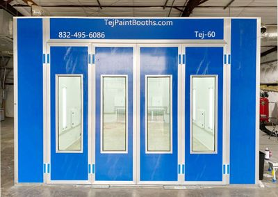 2020 Spray Paint Booth TEJ