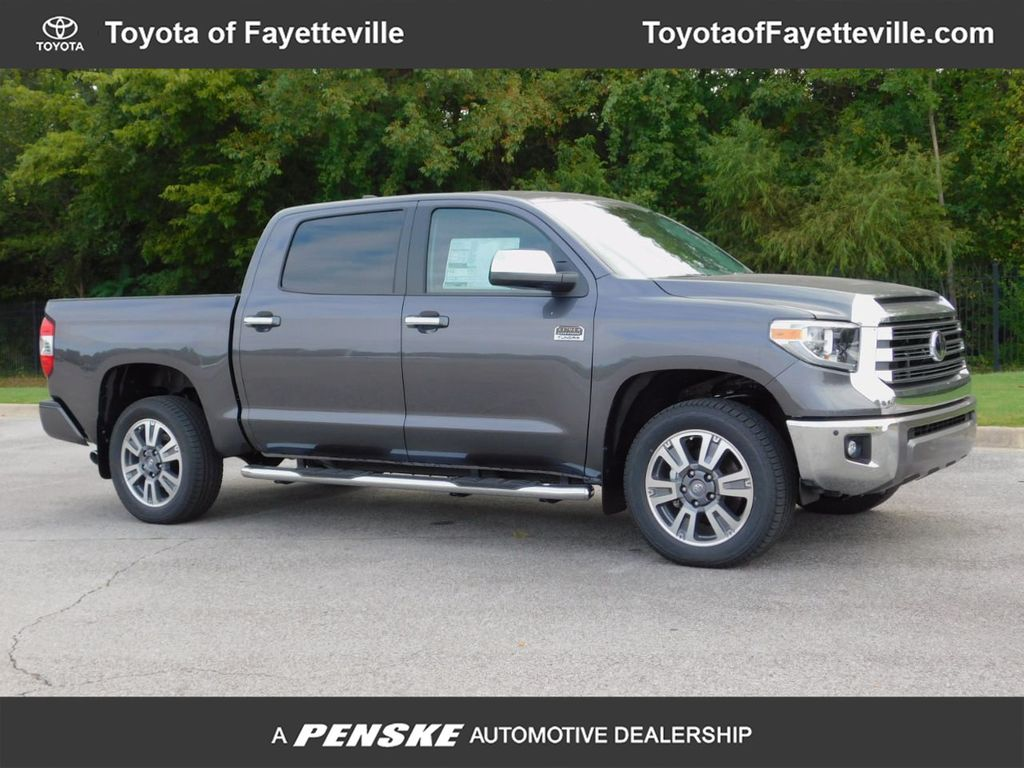 2020 New Toyota Tundra 4wd 1794 Edition Crewmax 5 5 Bed 5 7l At Fayetteville Autopark Ar Iid 19409211