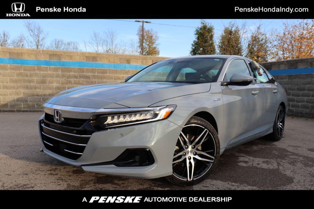 New 2021 Honda Accord Hybrid Touring Sedan For Sale In Indianapolis Indiana Ma000043 Penskecars Com