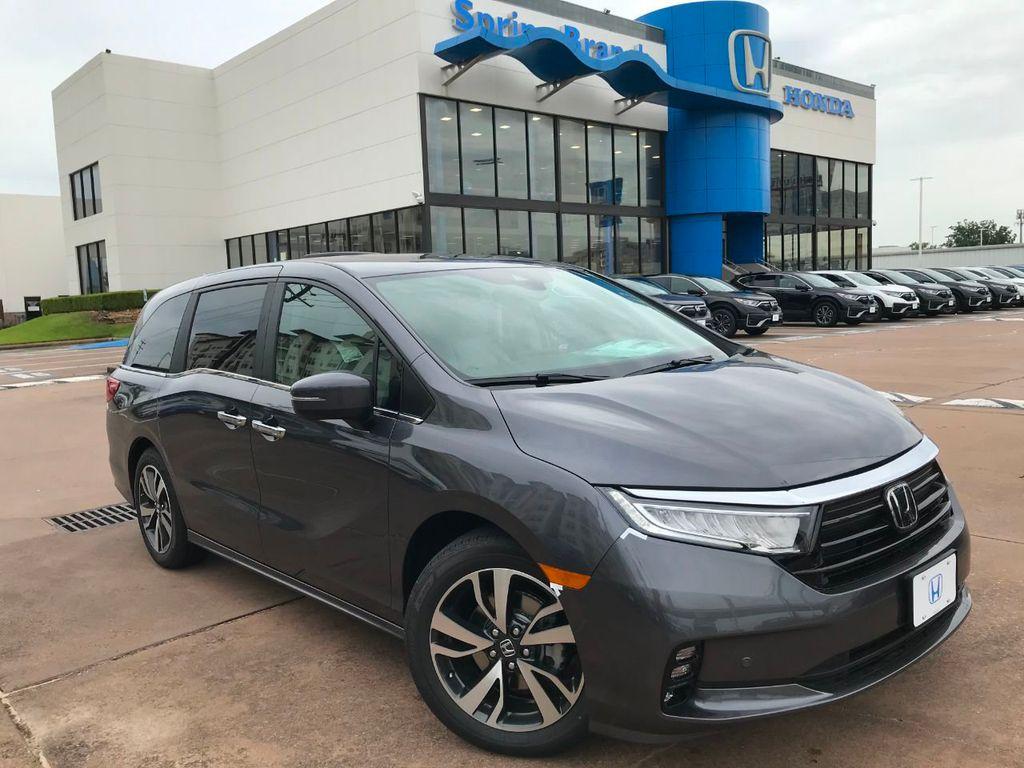 2021 New Honda Odyssey Touring Automatic At Spring Branch Honda Serving Houston Sugar Land Katy Tx Iid 20261804