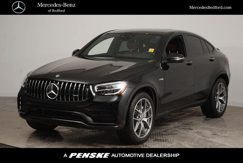 2021 New Mercedes Benz Amg Glc 43 4matic Coupe At Penske Cleveland Serving All Of Northeast Oh Iid 20492811