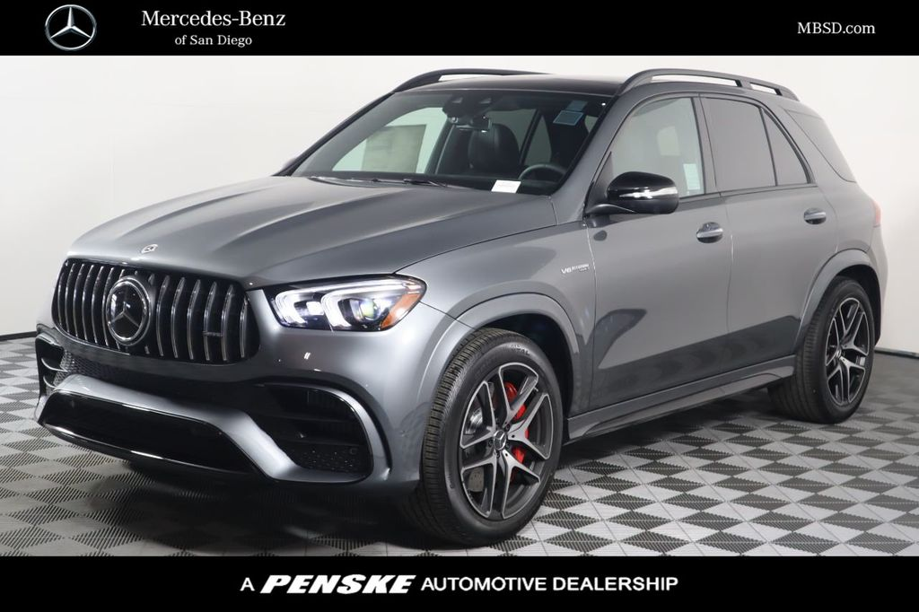 New 2021 Mercedes Benz Gle Amg Gle 63 S 4matic Suv For Sale In San Diego California 61101 Penskecars Com