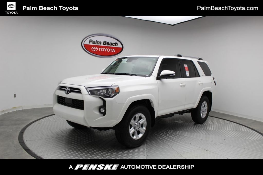 New 2021 Toyota 4runner Sr5 Premium 2wd For Sale In West Palm Beach Florida M5232807 Penskecars Com