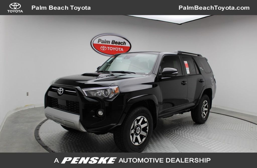 New 2021 Toyota 4runner Trd Off Road Premium 4wd For Sale In West Palm Beach Florida M5866706 Penskecars Com