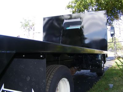 7017 ADVANCED FABRICATORS 14FB96W ..14ft Steel Flat Bed Body - Click to see full-size photo viewer