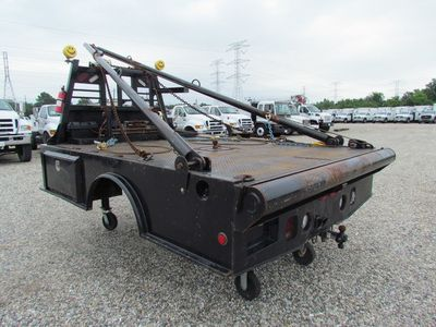 0 Winch Bed Steel Floor
