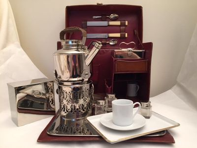 1905 Rolls-Royce PICNIC HIGH TEA SET