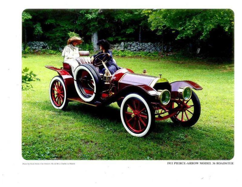 1911 Pierce-Arrow Model 36 For Sale - 16497998 - 4