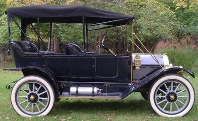 1912 Overland Torpedo Series 59 For Sale Convertible