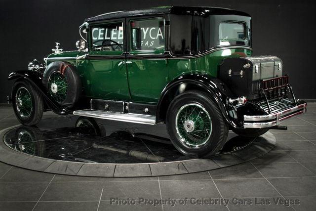 1928 Used Cadillac Al Capone's bulletproof Town Sedan at Celebrity Cars Las  Vegas, NV, IID 18065532