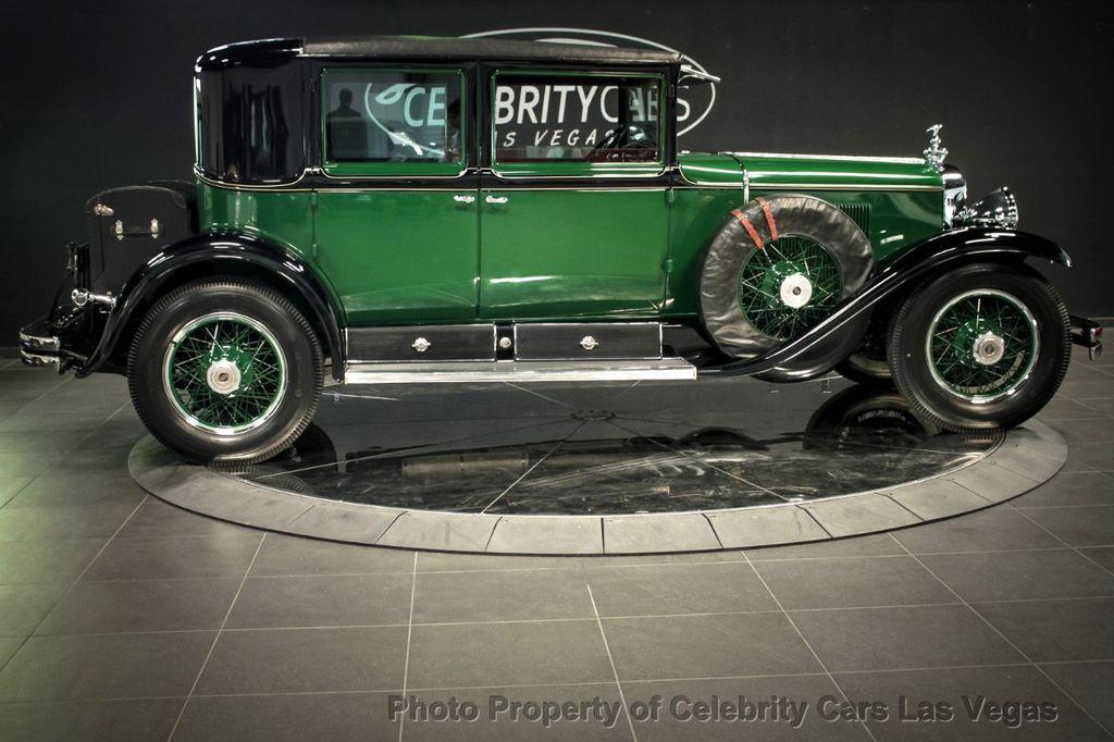 1928 Used Cadillac Al Capone's bulletproof Town Sedan at ...