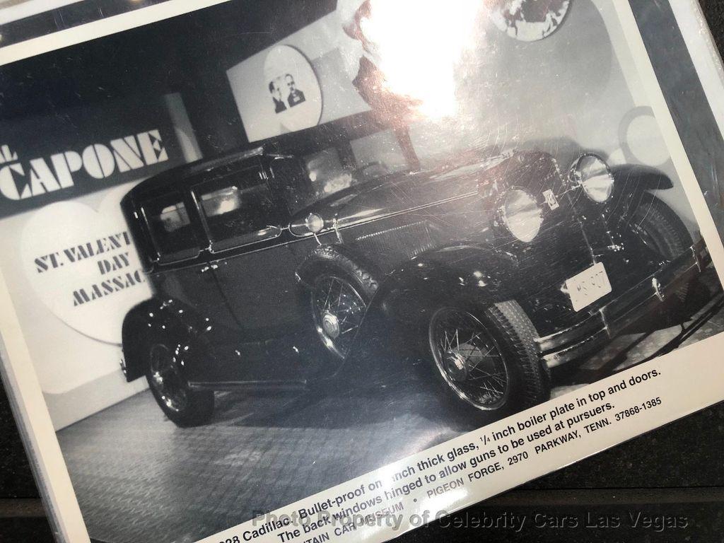 1928 Used Cadillac Al Capone S Bulletproof Town Sedan At Celebrity