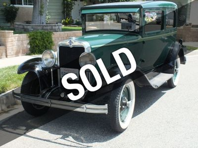 1929 Chevrolet 2-Door Coach For Sale Sedan