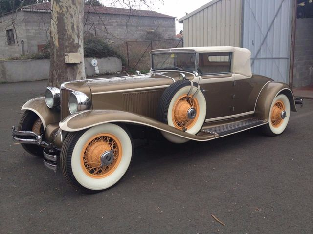 1929 Cord L29 Cabriolet 2 Seater For Sale - 16498154 - 0