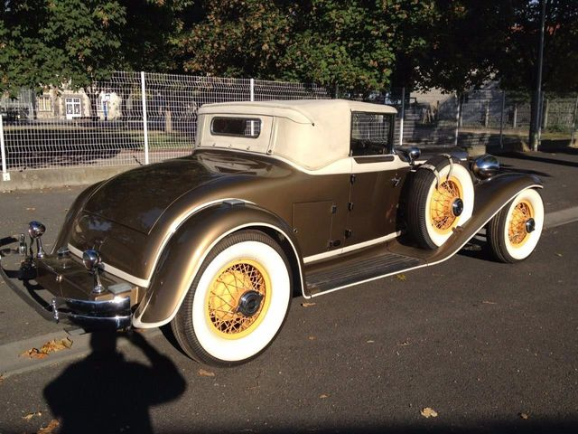 1929 Cord L29 Cabriolet 2 Seater For Sale - 16498154 - 9