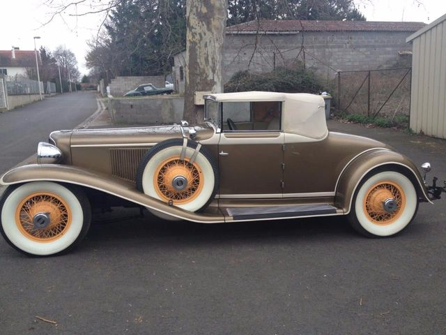 1929 Cord L29 Cabriolet 2 Seater For Sale - 16498154 - 13