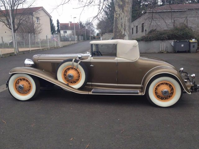 1929 Cord L29 Cabriolet 2 Seater For Sale - 16498154 - 17