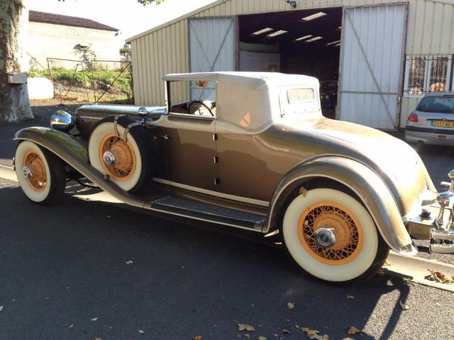 1929 Cord L29 Cabriolet 2 Seater For Sale - 16498154 - 21
