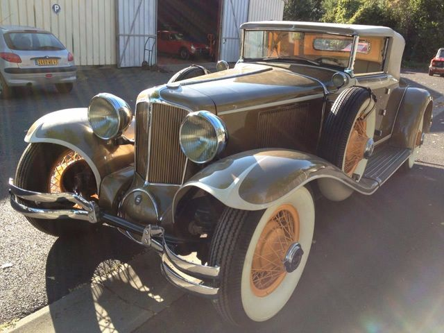 1929 Cord L29 Cabriolet 2 Seater For Sale - 16498154 - 22