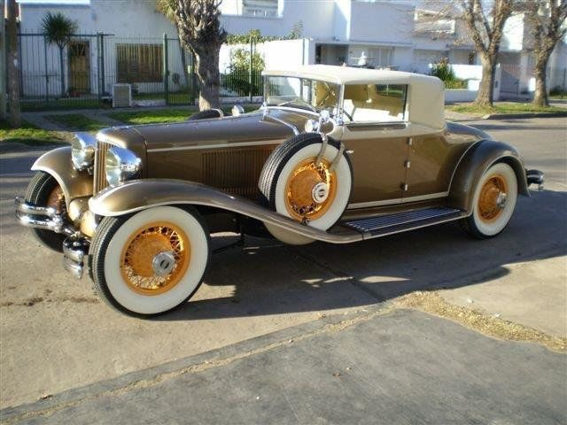 1929 Cord L29 Cabriolet 2 Seater For Sale - 16498154 - 2