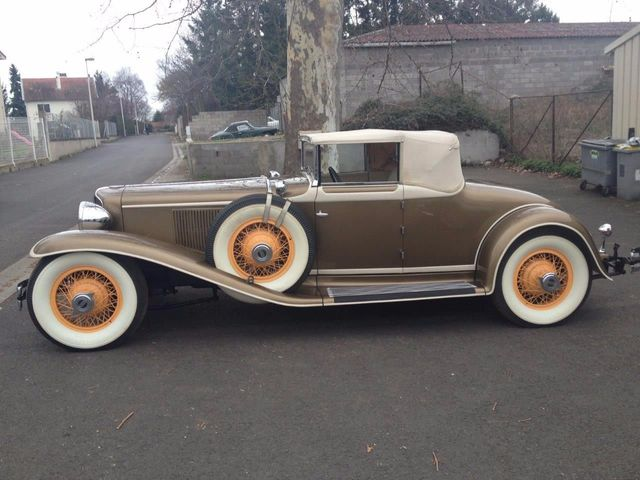1929 Cord L29 Cabriolet 2 Seater For Sale - 16498154 - 4