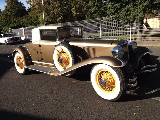 1929 Cord L29 Cabriolet 2 Seater For Sale - 16498154 - 6
