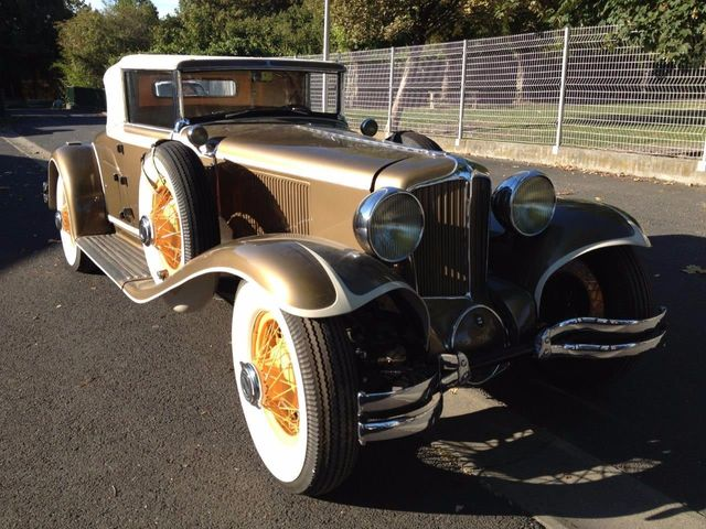 1929 Cord L29 Cabriolet 2 Seater For Sale - 16498154 - 8