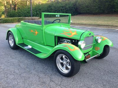 1929 Ford Coupester Roadster Henry Steel Body Coupester Convertible