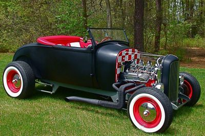 1929 Ford Hi-Boy Roadster Convertible