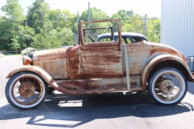 1929 Ford Model A Project Convertible