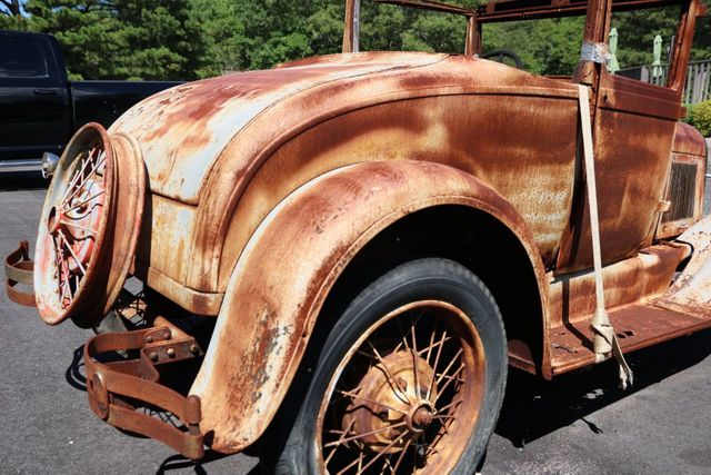 1929 Ford Model A Project - Click to see full-size photo viewer