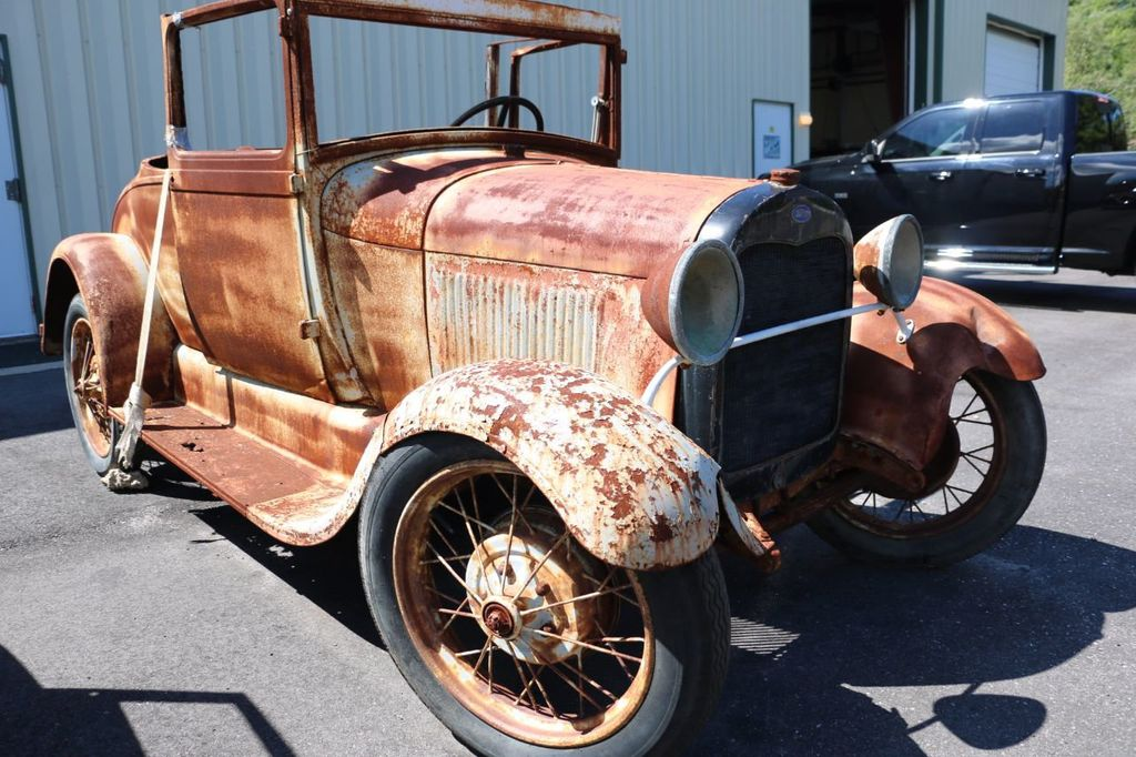1929 Ford Model A Sport Coupe Project - 15440553 - 9