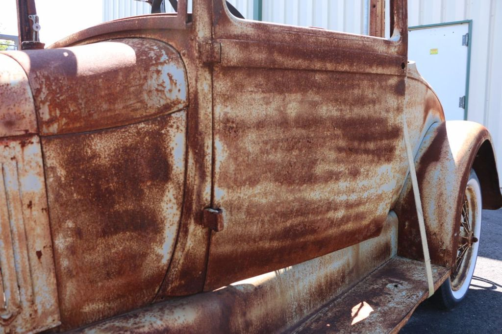1929 Ford Model A Sport Coupe Project - 15440553 - 12
