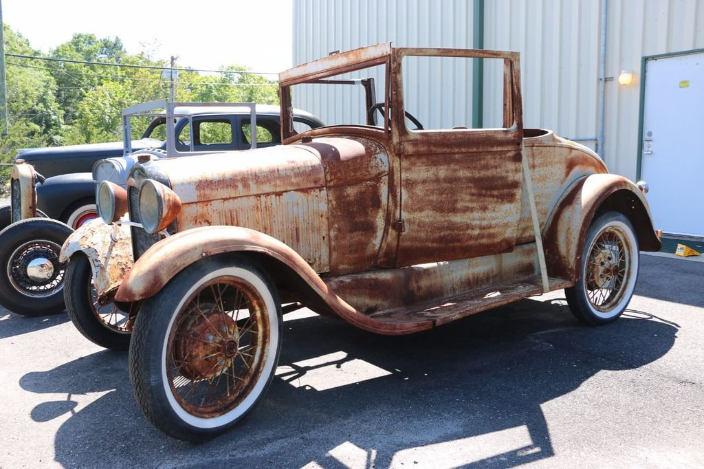 1929 Ford Model A Sport Coupe Project - 15440553 - 4