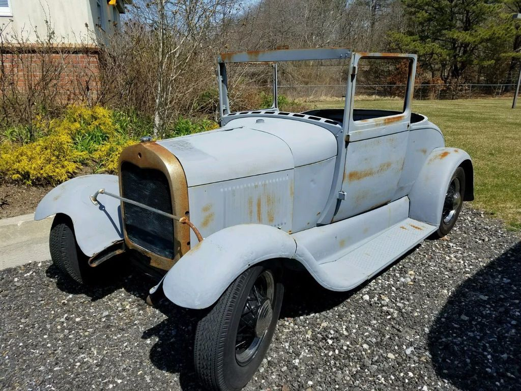 1929 Ford Model A Sport Coupe Project - 15441106 - 4