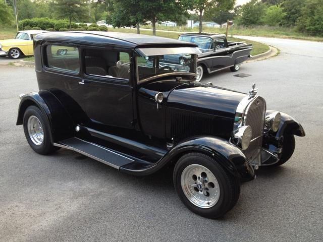 1929 Ford Model A Tudor Sedan SOLD - 12202000 - 3
