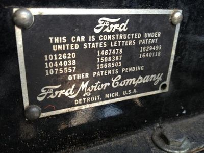 1929 Ford Model A Tudor Sedan SOLD - Click to see full-size photo viewer