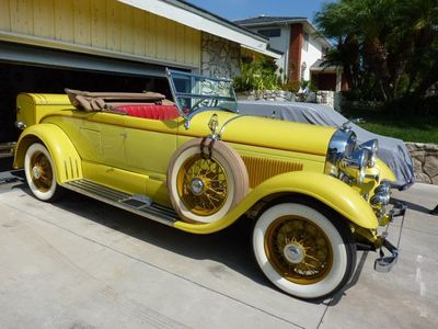 1929 Lincoln Model L by Designer Locke  Convertible