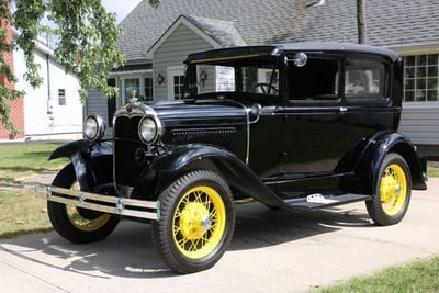 1930 Ford Model A Touring  Sedan Coupe